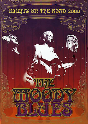 The Moody Blues 2008 Original Nights On The Road Tour Program U.K.