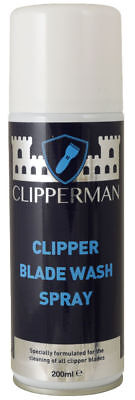 Clipperman Blade Wash Spray 200Ml For Cleaning Blades