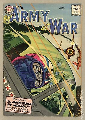 Our Army at War (1952) #59 GD 2.0