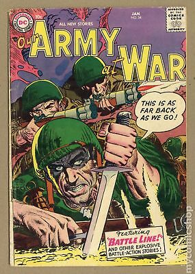 Our Army at War (1952) #54 GD 2.0