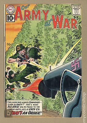 Our Army at War (1952) #110 GD+ 2.5