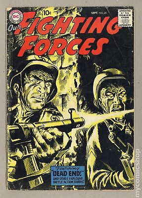 Our Fighting Forces (1954) #25 GD+ 2.5