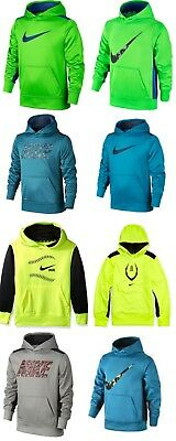 New NIKE Boys 3.0 Over The Head Therma-Fit Hoodie Sizes Small and Medium