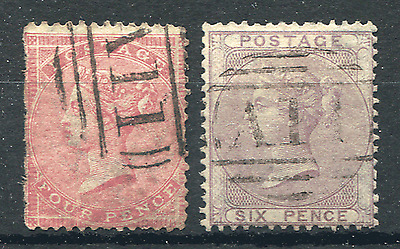 ST. LUCIA: (15040) GB used abroad postmark/cancels/Cat.£750