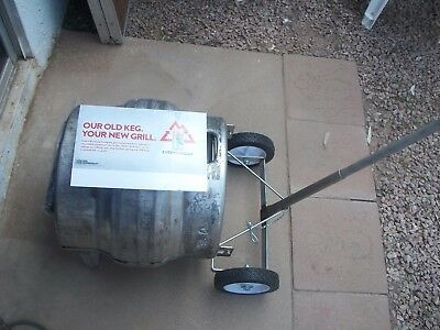COORS 1/4 Keg Barbecue Grill Brand New