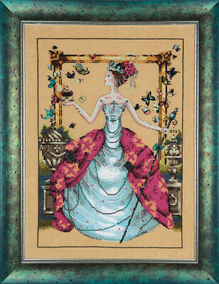 """COMPLETE XSTITCH KIT /""""THE RAVEN QUEEN MD139/"""" by Mirabilia SALE"""