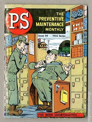 PS The Preventive Maintenance Monthly (1951) #34 GD+ 2.5