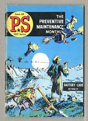 PS The Preventive Maintenance Monthly (1951) #60 VG 4.0
