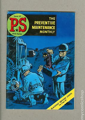 PS The Preventive Maintenance Monthly (1951) #65 FN 6.0