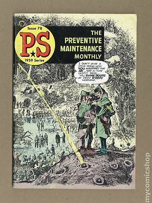 PS The Preventive Maintenance Monthly (1951) #78 VG+ 4.5