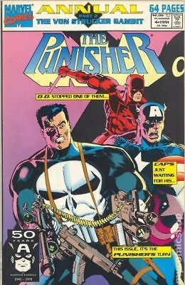 Punisher (1987) Annual #4 FN