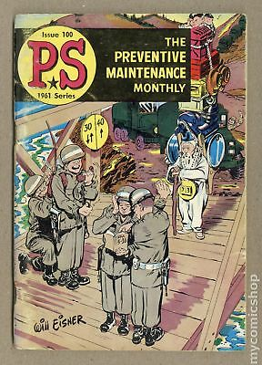 PS The Preventive Maintenance Monthly (1951) #100 VG- 3.5