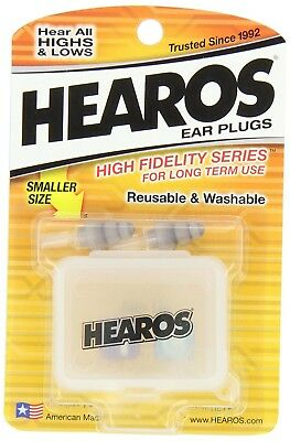 HEAROS High Fidelity Series Ear Plugs for Comfortable Long Term Use with Free...