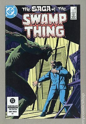Swamp Thing (1982 2nd Series) #21 VF+ 8.5