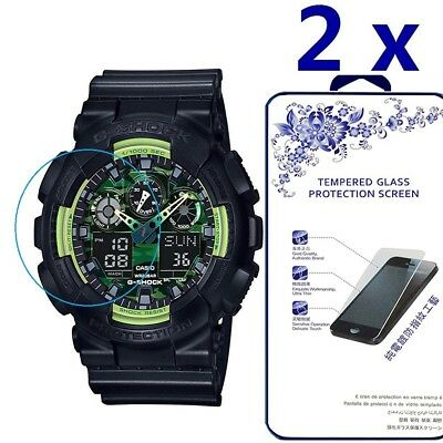 [2 Pack] For CASIO G-SHOCK Tempered Glass Screen Protector