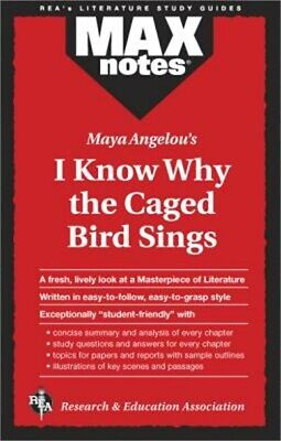 I Know Why the Caged Bird Sings (Maxnotes Literature Guides) (Paperback or Softb