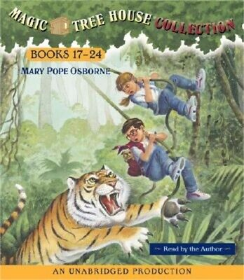 Magic Tree House Collection Books 17-24 (CD)