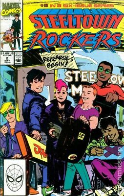 Steeltown Rockers (1990) #2 FN
