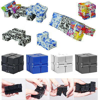 UK 2017 Infinity Cube EDC Mini For Stress Relief Fidget Anti Anxiety Stress Toys