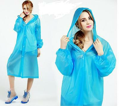 Wow!!! Anti-Rain Large Outdoor Plastic Raincoat for Camping Hiking Disposable