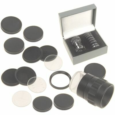 Stand Measuring Magnifier Scale Loupe Comparator 10X w/ 9 Reticles iGaging