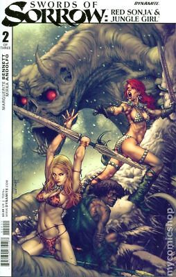 Swords of Sorrow Red Sonja Jungle Girl (2015 Dynamite) #2A NM