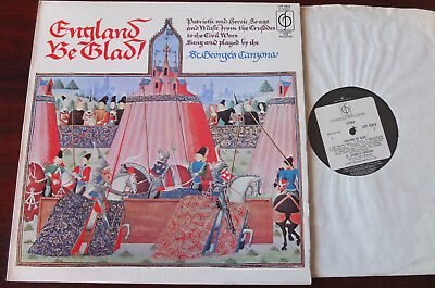 England Be Glad! Songs From The Crusades-Civil War Lp Sothcott Cfp 40015 Nm-