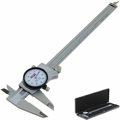 "Dial Caliper 8"" Anytime Tools Premium Precision Double Shock Proof Stainless"
