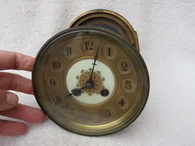 Antique French Striking Clock Movement, Dial, Etc