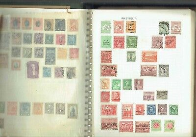 #036 INTERESTING OLD WORLD COLLECTION hinged on many leaves