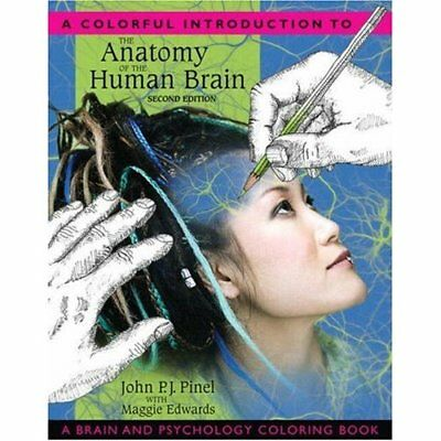 A Colorful Introduction to the Anatomy of the Human Bra - Paperback NEW Pinel, J