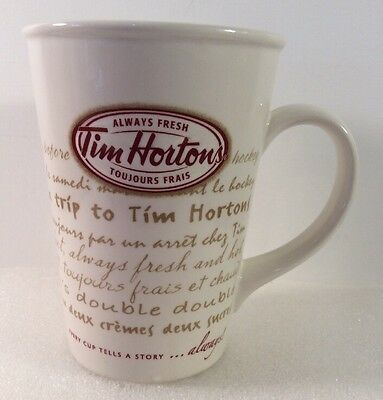TIM HORTONS Always Fresh 16 oz. Coffee Mug/Cup Limited Edition No 009 Collector
