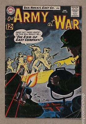 Our Army at War (1952) #126 GD+ 2.5