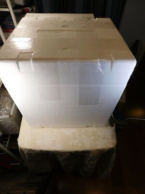 """Styrofoam Insulated Shipping Box Cooler 15""""Lx13""""Dx15""""H Outside Dimensions"""