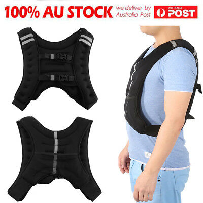 10Kg Weighted Weight Vest Adjustable Mma Crossfit Strength Training Running