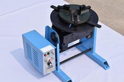 New 1~15RPM 30KG Duty Welding Positioner Turntable Timing with 200mm Chuck 220V