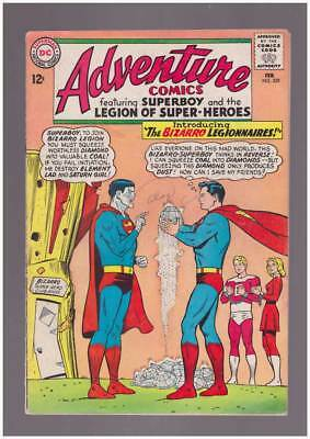 Adventure Comics # 329 The Bizarro Legionnaires ! grade 4.5 scarce book !!