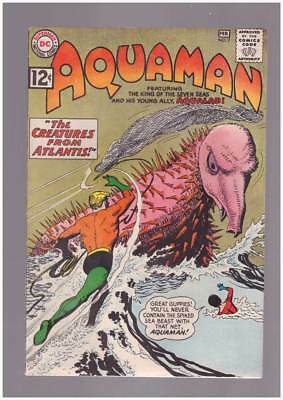 Aquaman # 7 Sea Beasts from Atlantis ! grade 7.5 scarce book !!