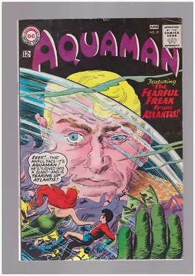 Aquaman # 21 Fearful Freakn from Atlantis ! grade 5.0 scarce book !!