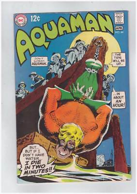 Aquaman # 44 Underworld Reward (Part 1 of 2) grade 4.5 scarce book !!