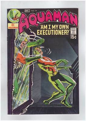 Aquaman # 54 Crime Wave ! grade 8.0 scarce book !!
