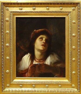 Fine 17th 18th Century Italian Old Master Mary Magdalene Antique Oil Painting
