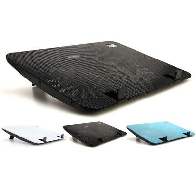 Metal Mesh Non-slip Notebook Cooler Cooling Pad Cradle Stand For 15.6'' Laptop