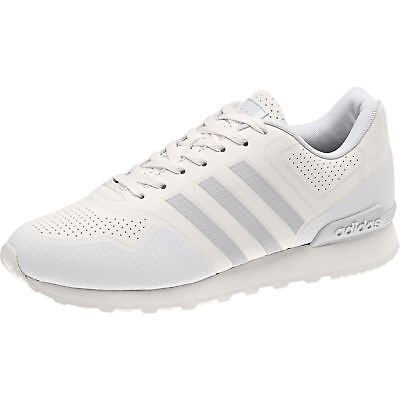 new concept a501d 80101 Adidas Mens 10K Casual Sneakers Shoes Low-Top BB9782 Chalk White