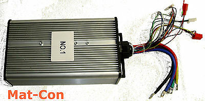 Electric Motor Control Unit Controller BLDC 48-120V 120A 14,4kw