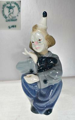 Porcelain of Cuernavaca Clown Figurine  7 ¼ Inches High