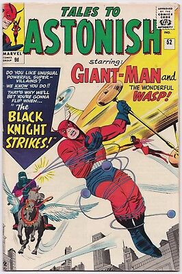 TALES TO ASTONISH (1959) #52 - 1st Black Knight - VFN (8.0) - Back Issue