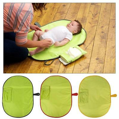 Baby Nappy Changing Mat Portable Folding Travel Changing Mat Waterproof Bag C