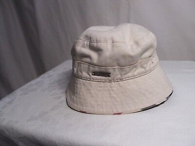 BURBERRY COTTON HAT SZ 52 2years