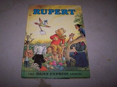 The Rupert Annual, printed 1972 so will be the 1973 Annual - lot 2